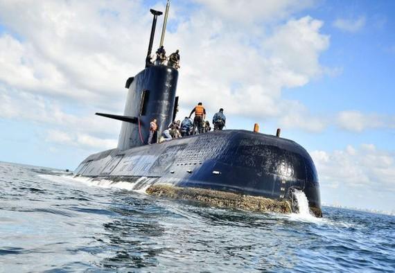 Tàu ngầm Argentina ARA San Juan. Ảnh: METRO