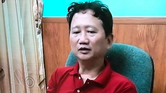Hình ảnh Trịnh Xuân Thanh ra đầu thú tại Cơ quan An ninh điều tra