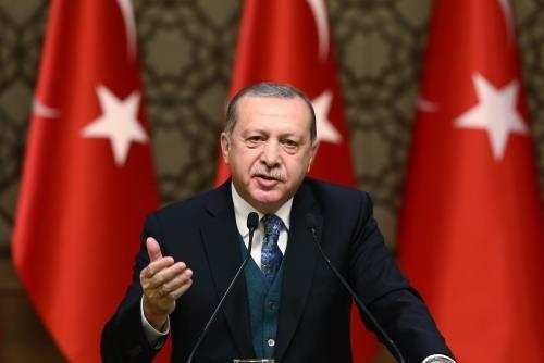 Tổng thống Thổ Nhĩ Kỳ Recep Tayyip Erdogan. ẢNh: THX