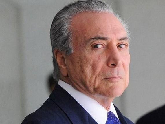 Tổng thống Brazil Michel Temer. Ảnh: INDIANEXPESS
