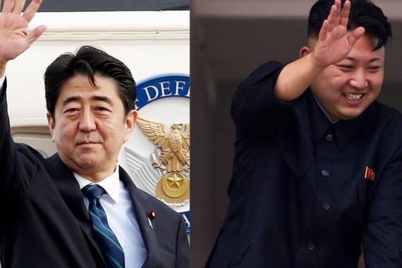 Thủ tướng Nhật Bản để ngỏ khả năng gặp lãnh đạo Kim Jong-un. Ảnh: SCMP