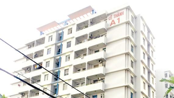 """Chung cư """"2 không"""" lô A Lê Thành (quận Bình Tân)"""
