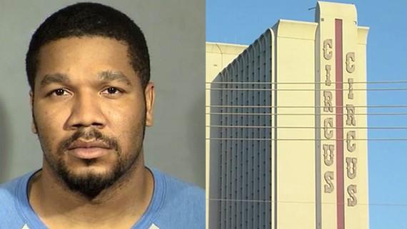Nghi phạm Julius Trotter bị bắt giữ ngày 7-6. Ảnh: ACB NEWS