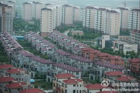"""Một góc """"thành phố ma"""" Kinh Tân"""