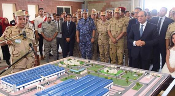 Khu liên hợp công nghiệp lớn nhất Trung Đông