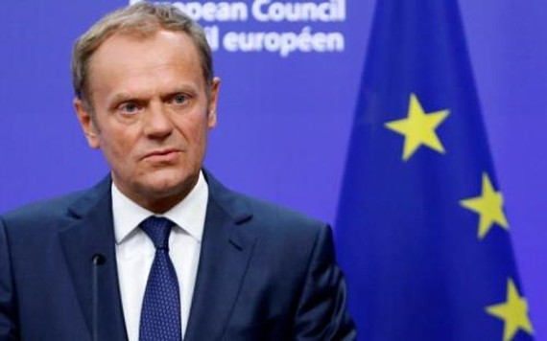 Ông Donald Tusk cảnh báo đề xuất của Anh về quan hệ thương mại với EU hậu Anh rời EU (Brexit) sẽ không thể trở thành hiện thực. Ảnh TELEGRAPH