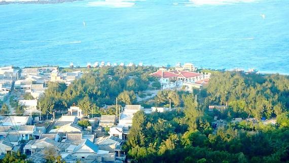 Một góc huyện đảo Phú Quý