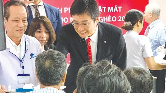 Dai-ichi Việt Nam tài trợ chương trình phẫu thuật mắt cho bệnh nhân nghèo