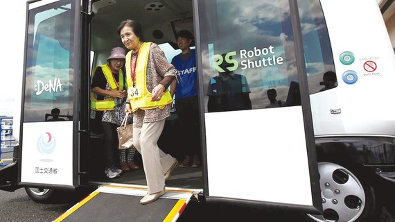 Nhật Bản sắp thử nghiệm xe buýt tự hành