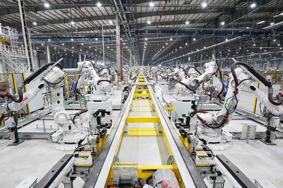 Sản xuất công nghiệp tăng 7,26%