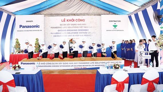 Panasonic khởi công xây dựng nhà máy Panasonic Life Solutions Việt Nam thứ hai tại Bình Dương