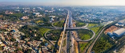 Quận 9 đang trở thành tâm điểm phát triển của khu Đông nhờ yếu tố hạ tầng giao thông