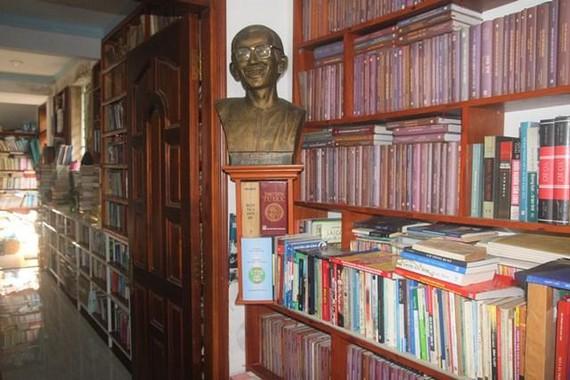 Đây là thư viện tư nhân thứ hai trên địa bàn tỉnh. Ảnh: Nhân Dân