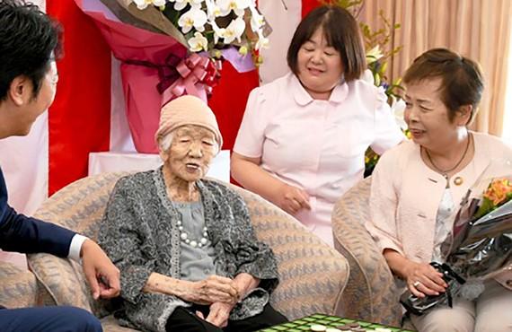 Cụ bà Kane Tanaka, người Nhật Bản, 116 tuổi