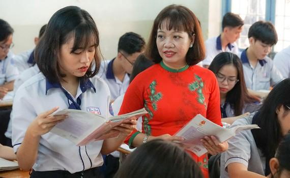 Cô Nguyễn Thị Loan, giáo viên Trung tâm GDNN-GDTX Tân Bình
