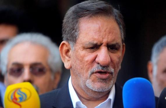 Phó tổng thống Iran Eshaq Jahangiri. Ảnh: REUTERS