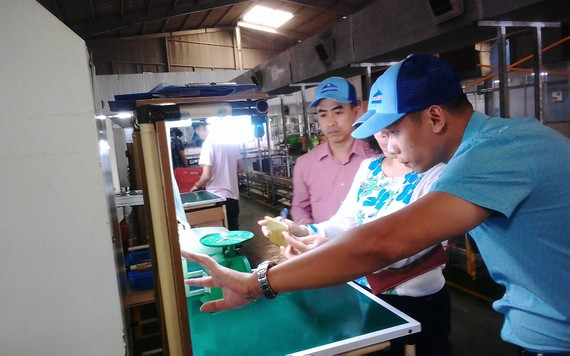 Sản xuất tại Công ty TNHH Sản xuất  thương mại nhựa kỹ thuật Vinastar