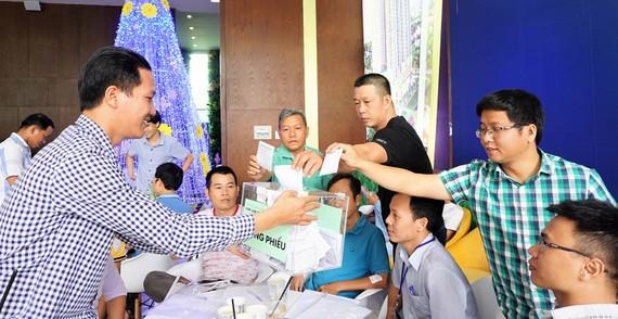 Một hội nghị bầu ban quản trị chung cư tại TPHCM