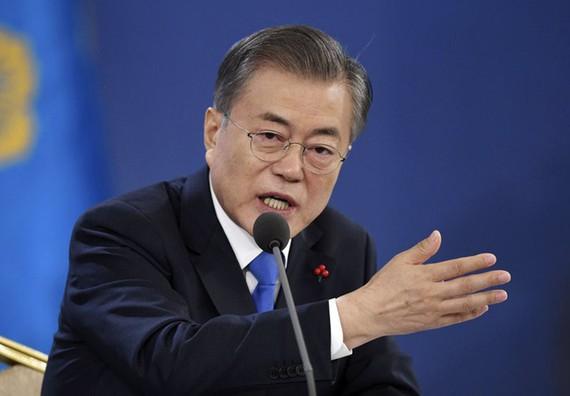 """Tổng thống Hàn Quốc Moon Jae-in vừa công bố """"Tầm nhìn 2045 về quốc gia bao trùm đổi mới"""""""