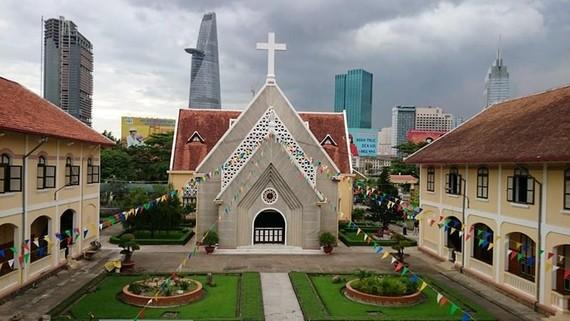 Tu viện Hội Dòng Mến Thánh Giá Thủ Thiêm. Nguồn: conggiaovn.com