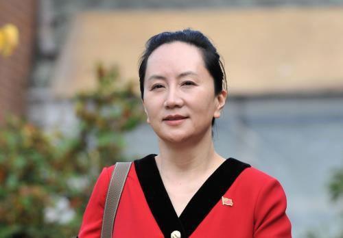 Giám đốc tài chính Huawei Mạnh Vãn Châu tới phiên tòa ở British Columbia, Canada ngày 1-10-2019. Ảnh: TTXVN