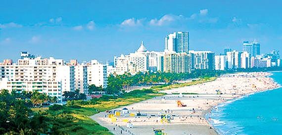 Thành phố biển Miami, Mỹ