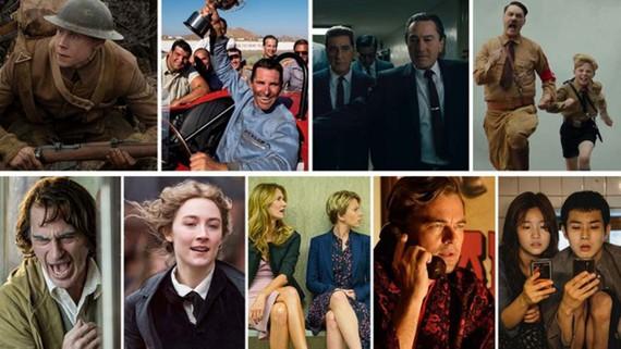 Cuộc cạnh tranh tại Oscar 2020 càng về cuối càng hấp dẫn.  Ảnh: Hollywood Reporter