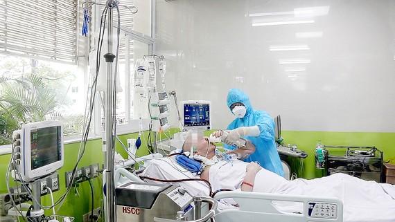 Bệnh nhân 91 có thể tiếp xúc, thực hiện được đầy đủ các y lệnh của nhân viên y tế