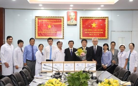 Cơ quan Hợp tác Quốc tế Nhật Bản thăm và làm việc tại Bệnh viện Chợ Rẫy. Nguồn: NHANDAN.COM.VN