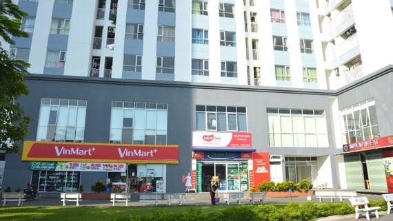 Chung cư Zen Tower (loại hình nhà ở xã hội, giá rẻ)  tại phường Thới An (quận 12, TPHCM). Ảnh: ĐỨC TRUNG
