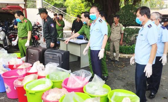 Hải quan TPHCM tham gia phá một chuyên án ma túy