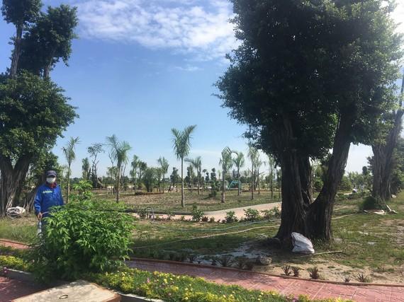 Công viên được xây dựng tại khu nhà ở Phú Quang