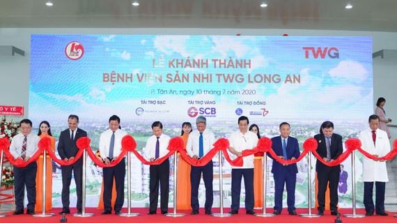 Bệnh viện Sản nhi TWG Long An đã chính thức được khánh thành tại thành phố Tân An, tỉnh Long An