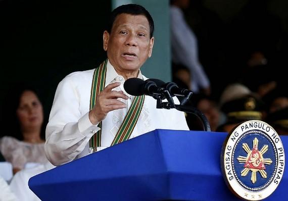 Tổng thống Philippines Rodrigo Duterte. Nguồn: AP