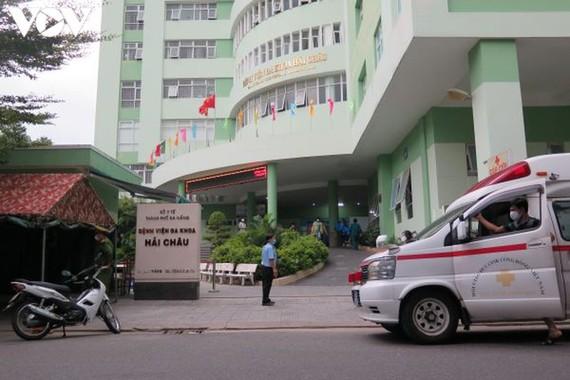Bệnh viện Hải Châu gỡ bỏ phong tỏa cách ly lúc 16h30 chiều ngày 19-8. Nguồn VOV