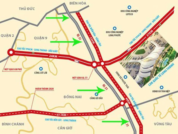 UBND tỉnh Bà Rịa - Vũng Tàu đã tổ chức cuộc họp nghe báo cáo nghiên cứu tiền khả thi dự án xây dựng đường cao tốc Biên Hòa - Vũng Tàu