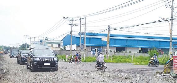 Nhiều nhà xưởng được xây dựng trái phép trên đất quy hoạch công viên rừng trồng tại CCN Phước Tân