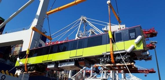 Tháng 10, đoàn tàu đầu tiên tuyến metro số 1 về TPHCM