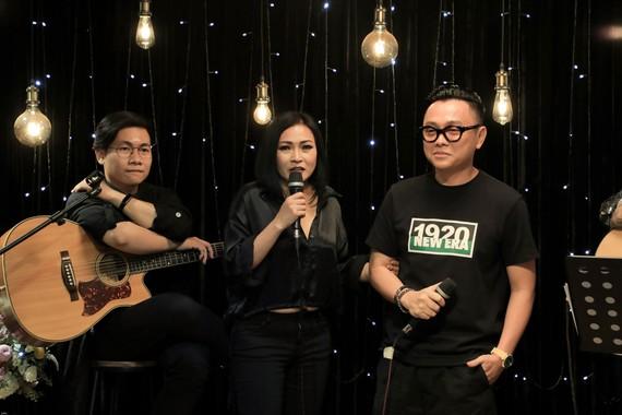 NTK Công Trí lần đầu chia sẻ kỷ niệm về ca sĩ Minh Thuận.  Ảnh: Lý Võ Phú Hưng