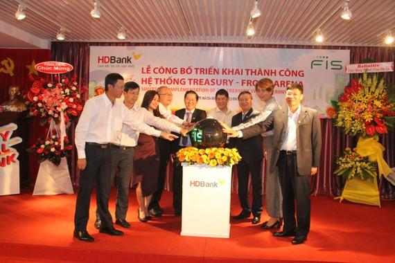 HDBank đưa vào sử dụng hệ thống Treasury – FIS Front Arena