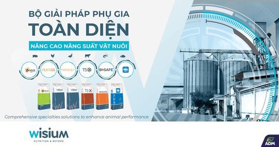 Wisium với bộ giải pháp phụ gia toàn diện nâng cao năng suất vật nuôi