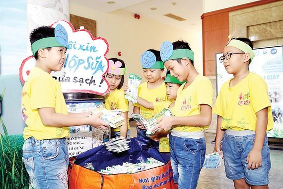 Tetra Pak mở rộng chương trình tái chế học đường lên tới 1.600 trường tại Hà Nội