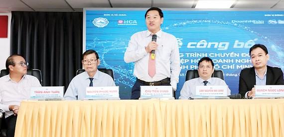 Hiệp hội Doanh nghiệp TPHCM công bố chương trình Chuyển đổi số