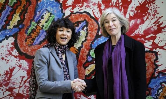 Giải thưởng hơn 1,1 triệu USD được chia đôi cho hai nhà khoa học Emmanuelle Charpentier và Jennifer Doudna. Ảnh: REUTERS