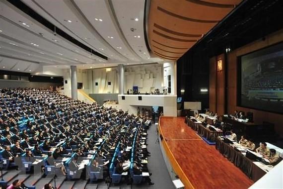 Một phiên họp của Quốc hội Thái Lan ở thủ đô Bangkok. Ảnh: THX/TTXVN