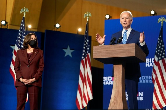 Ứng viên đảng Dân chủ Joe Biden. Ảnh: NEW YORK TIMES