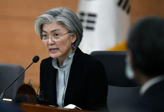 Ngoại trưởng Hàn Quốc Kang Kyung-hwa. Nguồn: REUTERS