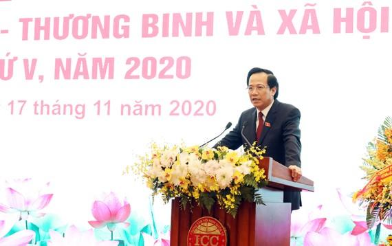 Bộ trưởng Đào Ngọc Dung phát động Phong trào thi đua yêu nước trong toàn ngành LĐ-TBXH giai đoạn 2021 - 2025