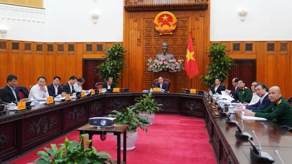 Ban Chỉ đạo An toàn, an ninh mạng quốc gia đã ra mắt và họp phiên đầu tiên dưới sự chủ trì của Thủ tướng Nguyễn Xuân Phúc. Ảnh: VGP
