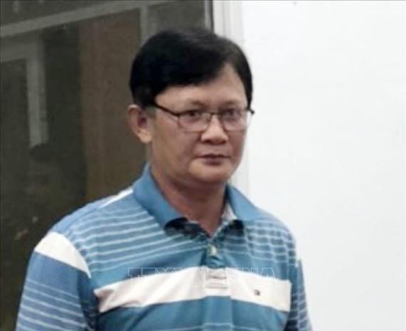 Bị can Huỳnh Hồng Bảo tại thời điểm bị bắt. Nguồn: TTXVN
